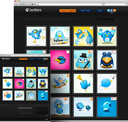 image gallery html css.  makes it the best twitter icon gallery. Tags: HTML/CSS Conversion