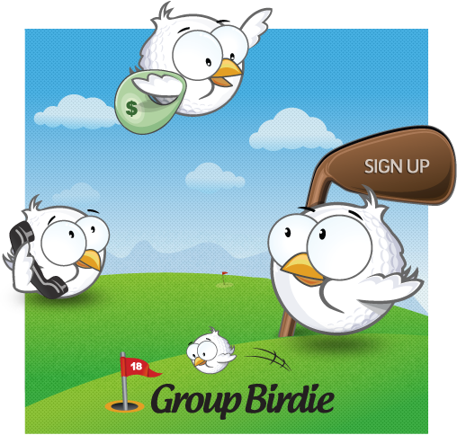 group-birdie-mascot